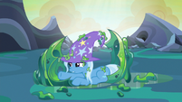 Trixie freed from her cocoon cage S6E26