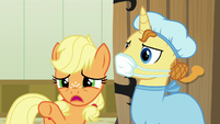 "Young Applejack ""that's my brother on there!"" S6E23"