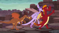 Dragons follow Garble S6E5