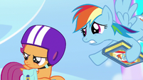 "Rainbow ""you might wanna hold onto your wings"" S7E7"