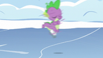 Spike spinning through the air S5E5