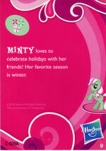 Wave 1 Minty collector card