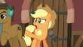 Applejack tries talking to passing stallion S5E16.png