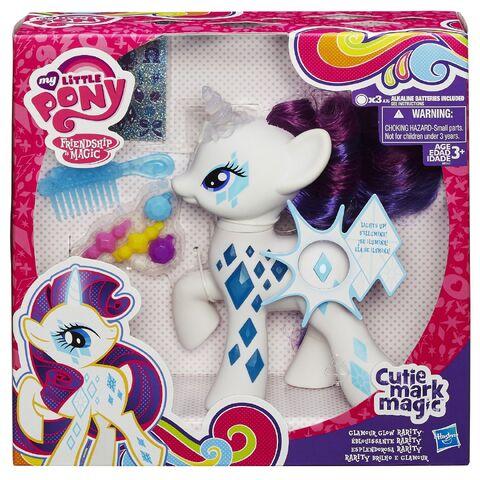 File:Cutie Mark Magic Glamour Glow Rarity doll packaging.jpg