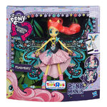 Fluttershy Equestria Girls Ponymania Doll packaging