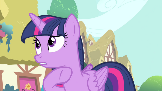 "File:Twilight ""have you seen anypony suspicious"" S4E23.png"