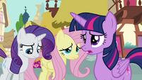 "Twilight Sparkle ""I'm not sure it's the best time"" S4E18"