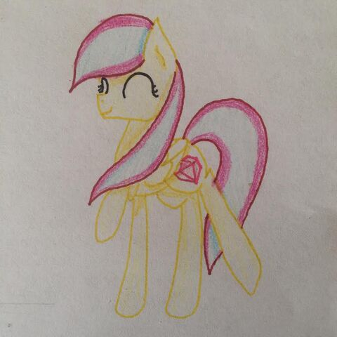 File:FANMADE Yellow Pony dancing OC.jpg