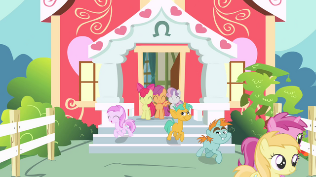 File:Fillies and colts leaving schoolhouse S4E05.png