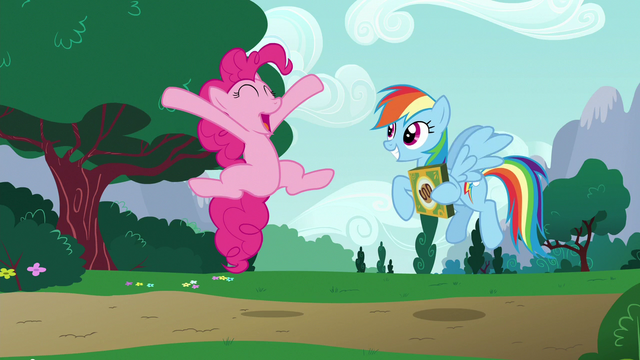 File:Pinkie Pie leaping in amazement S6E15.png