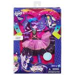 Rainbow Rocks Deluxe Dress Twilight Sparkle doll packaging