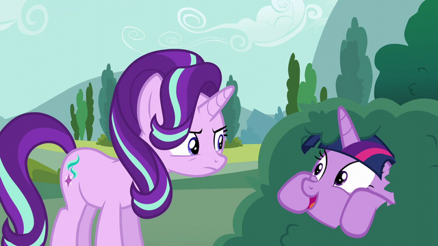 "File:Twilight ""how's it going with your new friend?"" S6E6.png"