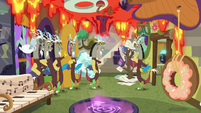 Discord's duplicates waiting for his orders S7E12