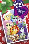 Equestria Girls Holiday Special cover A