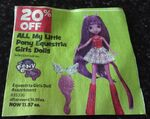 Equestria Girls doll discount
