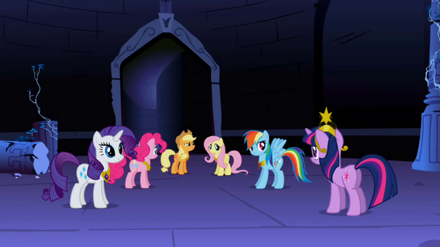 File:Main 6 ponies victorious S1E2.png