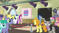 Shining Armor and Cadance look at cake painting S7E3.png