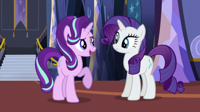 """File:Starlight Glimmer """"we can start with the dresses"""" S6E21.png"""
