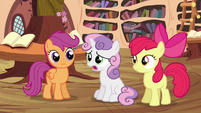Sweetie 'I'll never get my cutie mark' S4E15