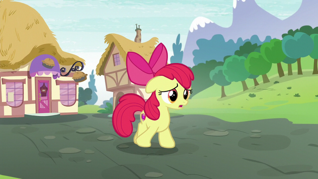 "File:Apple Bloom ""Somethin' new that's just for me"" S6E4.png"