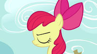 Apple Bloom sad closeup S2E18