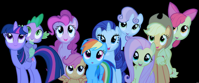 File:FANMADE Ponies watching meteor shower.png