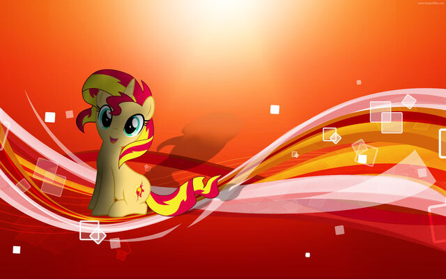 File:FANMADE Sunset Shimmer Wallpaper.jpg