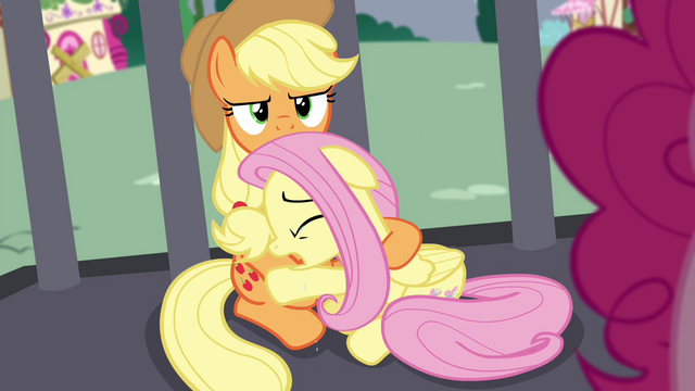 """File:Fluttershy """"I thought we were friends!"""" S4E26.png"""