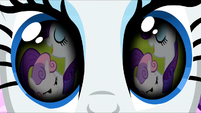 Sweetie Belle in Rarity's flashback S3E13