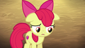 Apple Bloom thinks about her answer again S6E23.png