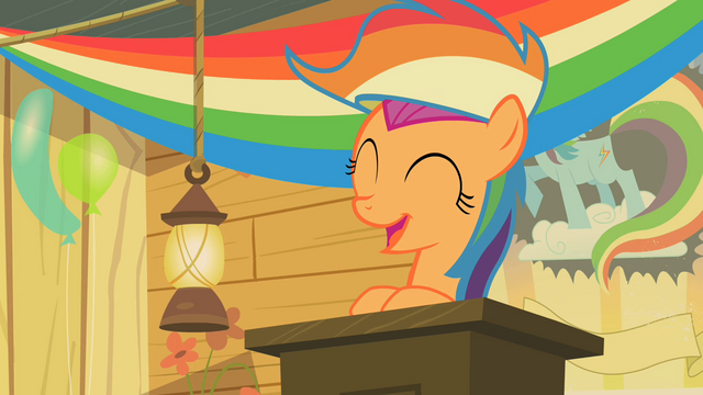 File:Scootaloo Podium Smiling S2E08.png