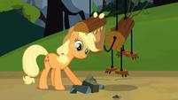 Applejack and fake timberwolf S03E09