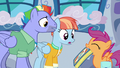Bow and Windy look at Scootaloo's scrapbook S7E7.png