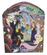 Discord & Fluttershy Figure Set Comic-Con Exclusive packaging