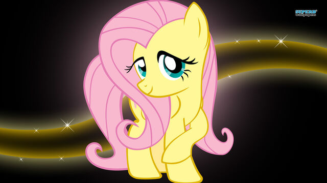 File:FANMADE Fluttershy wallpaper.jpg