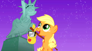 Filly Applejack in Manehattan 3 S01E23