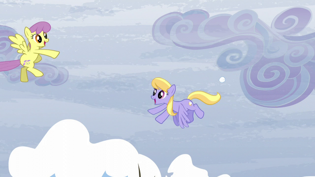 File:Parasol and Cloud Kicker having a snowball fight S5E5.png