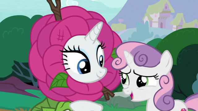 "File:Sweetie Belle ""maybe we could just try"" S7E6.png"