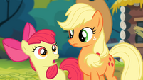 Apple Bloom 'She does make a pretty good point' S4E09