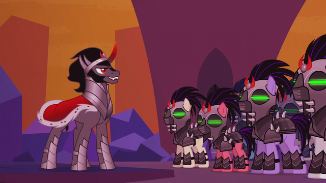 File:King Sombra looking at his army S5E25.png