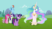 "Princess Celestia ""Fluttershy may know best"" S03E10"