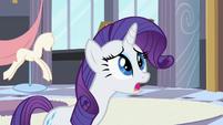 Rarity talking to the Princess S2E9