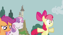 Apple Bloom bumps into force field S02E23