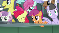 Gabby speeds past the Cutie Mark Crusaders S6E19.png