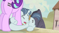 Party Favor hugging Starlight's leg S5E2.png