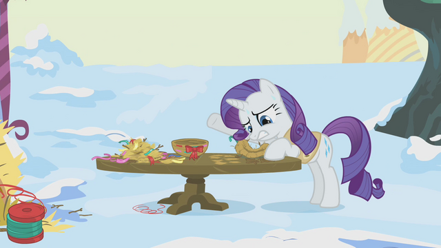 File:Rarity is horrendously behind S1E11.png