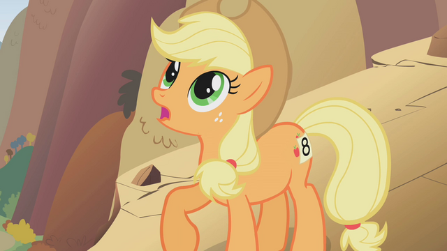 File:Applejack confused on how she got ontop of a mountain S1E13.png