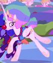 Princess Celestia clown costume ID S5E26