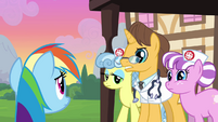 Rainbow Dash scolded by hospital staff S2E16
