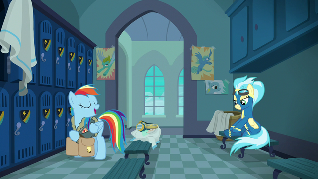 File:Rainbow in the locker room with Misty Fly S6E24.png